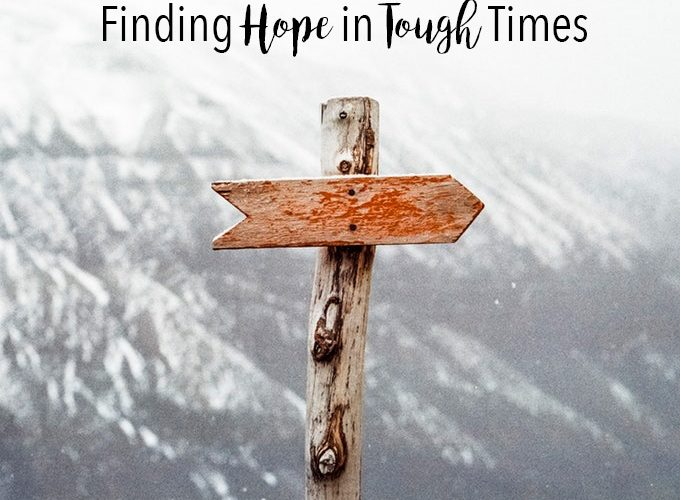 Finding Hope in Tough Times